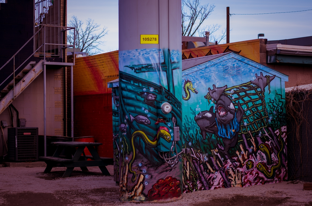 Denver Street Art | Fish & Chips