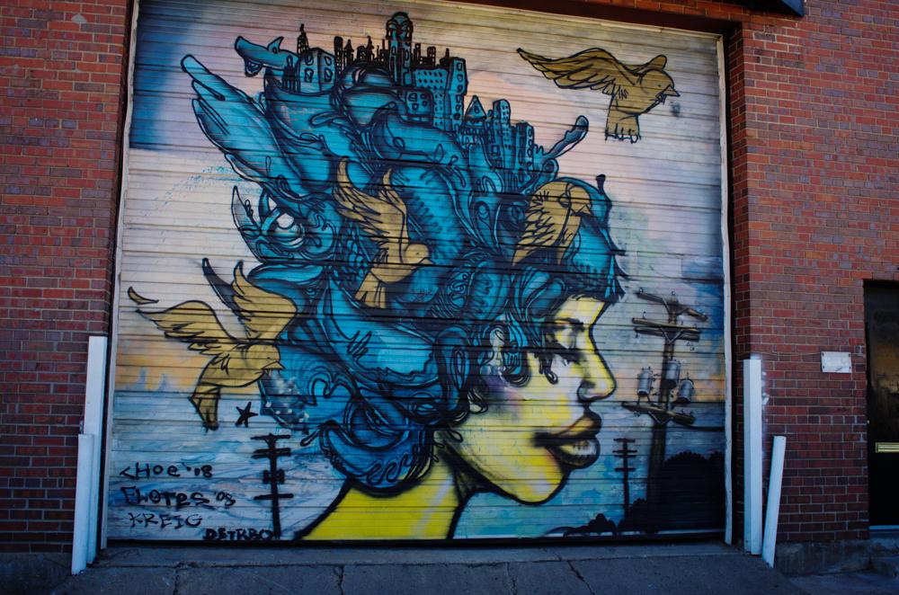 Denver Street Art   River North