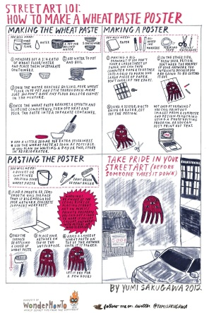 wheatpaste instructions